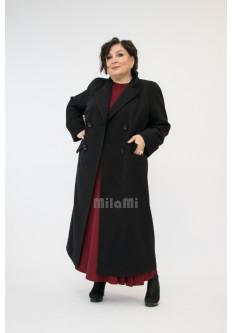 Пальто полуреглан классическое прямое
