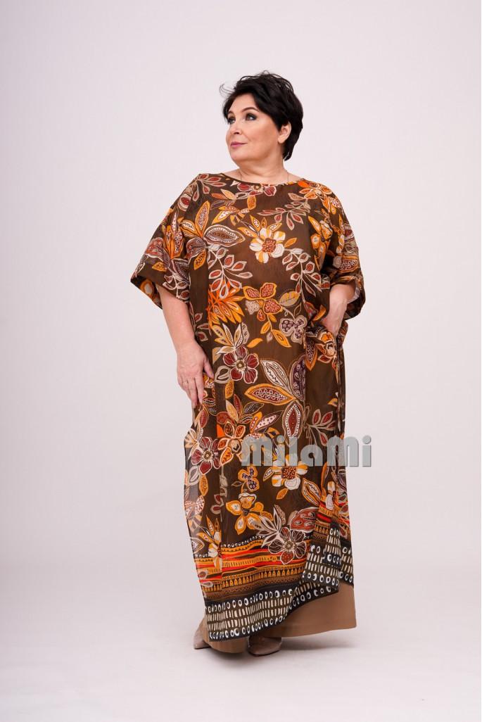 Туника-платье Маркизет