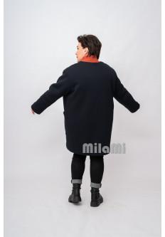 Пальто-кромби футер