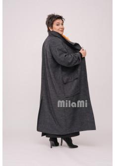 Пальто Милитари из тонкого сукна