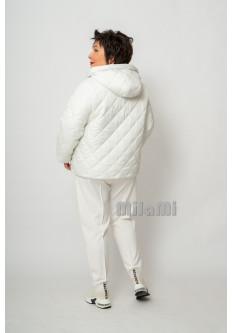 Куртка стеганая белая