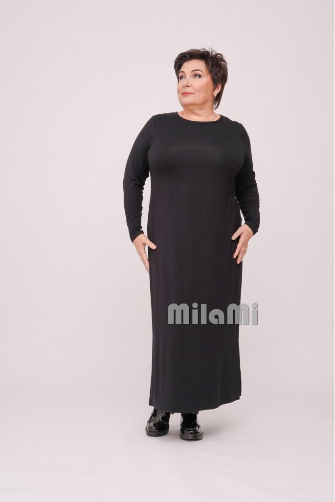 Платье базовое трикотажное