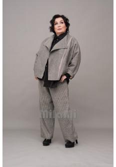 Куртка-косуха шерстяная с чесучой