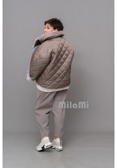 Куртка двухсторонняя оливковая