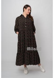Платье ярусное Арина