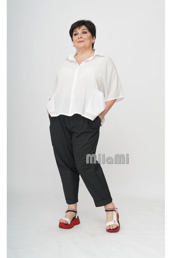 Рубашка короткая из марлевки