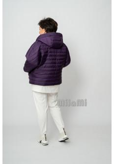 Куртка стеганая Сирень