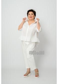 Блуза летняя с оборками