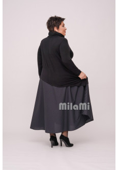 Платье Дана с юбкой-полусолнце